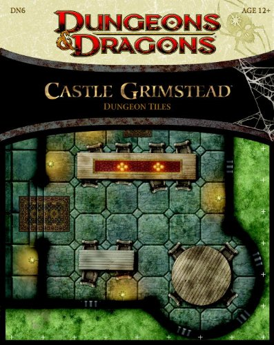 Castle Grimstead - Dungeon Tiles: A Dungeons & Dragons Accessory (Dungeons & Dragons Accessories)
