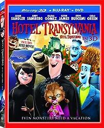 Hotel Transylvania 3D (Bilingual) [Blu-ray 3D + Blu-ray + DVD + UltraViolet]