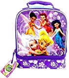 Disney Fairies Lunch Kit - Blue and Purple Dual Compartment