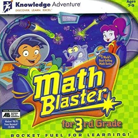 Math Blaster for 3rd Grade