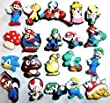 Super Mario Nintendo Shoe Charms Set of 6 - Jibbitz / Croc Style