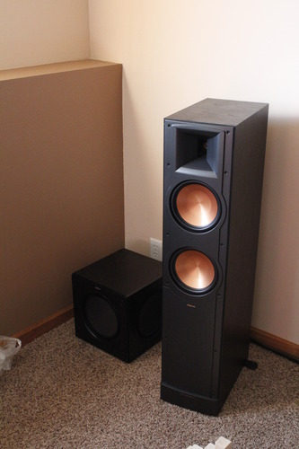 buy bargain klipsch rf 82 ii floorstanding speaker black ash receiver reviews. Black Bedroom Furniture Sets. Home Design Ideas