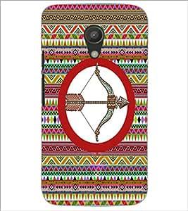 PrintDhaba Zodiac Sagittarius D-5663 Back Case Cover for MOTOROLA MOTO G2 (Multi-Coloured)