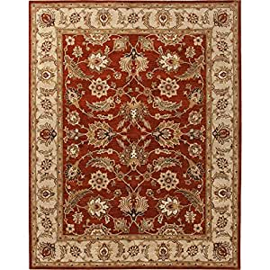 Amazon.com - Jaipur Rugs My04 5x8 Selene Red Oxide/Sand Traditional