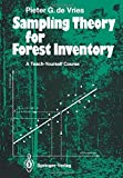 img - for Sampling Theory for Forest Inventory: A Teach-Yourself Course by Pieter G. de Vries (1986-01-01) book / textbook / text book