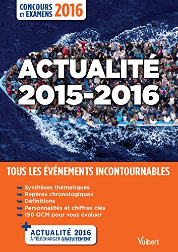 Actualité 2015-2016 - Concours et examens 2016