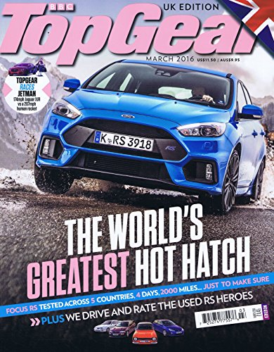 BBC Top Gear [UK] March 2016 (単号)
