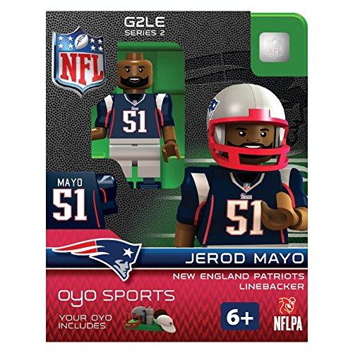 Jerod Mayo NFL New England Patriots Oyo G2S2 Minifigure - 1