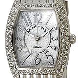 rametto belly ラメットベリー 時計 レディース トノー型 クオーツ ブランド腕時計 RAB2403 ホワイトシェル [並行輸入品]