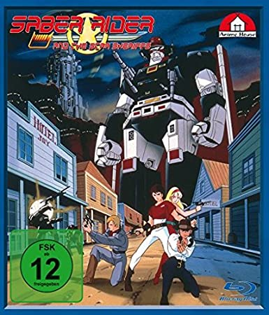 Saber Rider and the Star Sheriffs, Blu-ray - Volume 1
