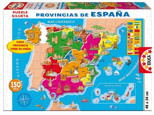 Educa Borrás 14870 - 150 Provincias España