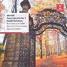 Brahms: Piano Concerto No. 1, Handel Variations
