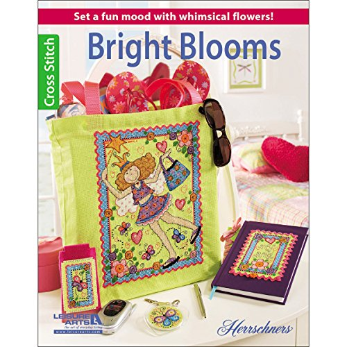 Leisure Arts Bright Blooms - 1