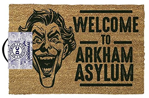 The Joker Welcome to Arkham Asylum Zerbino standard