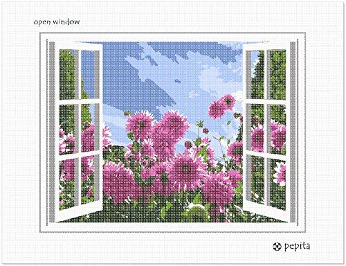 """Monalisa 11CT cross stitch kits /""""Gardenia/""""-56cm*48cm"""
