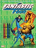 Fantastic 4 Color & Activity Book with Crayons