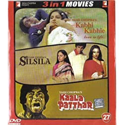 Kabhi Kabhie - Love Is Life / Silsila / Kaala Patthar