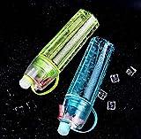 SALUS Sport Drinking and Misting Spray Water Bottle, Outdoor Sport Drinking, BPA FREE, 600 ml (Blur Blue)