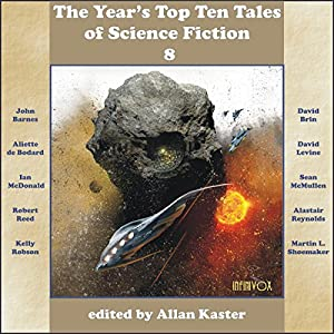 The Year's Top Ten Tales of Science Fiction 8 Audiobook