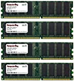 Komputerbay 4GB ( 4 X 1GB ) DDR DIMM (184 PIN) 400Mhz DDR400 PC3200 DESKTOP MEMORY WITH SAMSUNG CHIPS CL 3.0