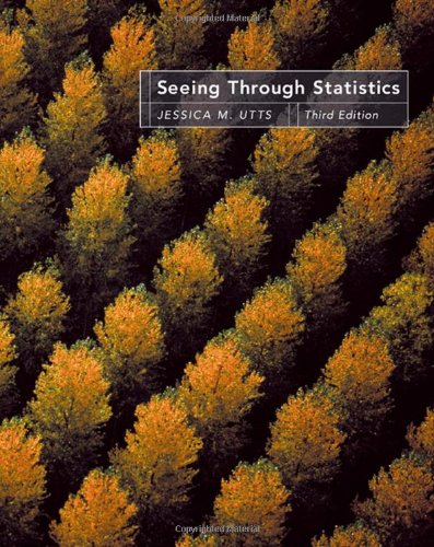 Seeing Through Statistics, 3rd Edition (Book & CD-Rom)