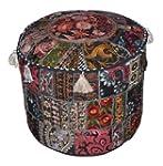 Indian Vintage Ottoman Embellished wi...