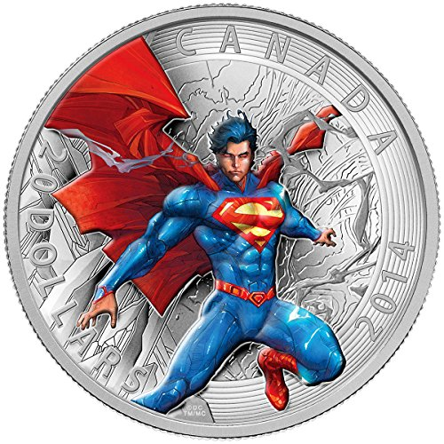 2014 Mint Proof Fine Silver Coin - Iconic SupermanTM Comic Book Covers: Superman Annual #1 (2012) $20 Mint State