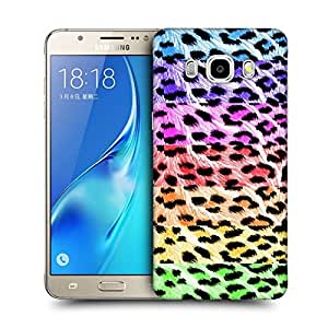 Snoogg Colorful Chetah Designer Protective Back Case Cover For SAMSUNG GALAXY J7 2016 J710X