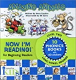 Now I'm Reading!: Amazing Animals - Level 2