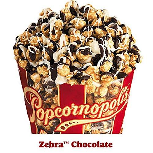 Popcornopolis Zebra Popcorn, 10.5oz Bag