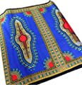 RaanPahMuang Africa Dashiki Colour Cotton Fabric for 1 Childrens Shirt Design