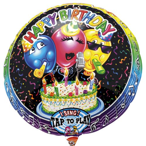 Anagram International 1303701 Happy Birthday S-A-T Balloon, 28""