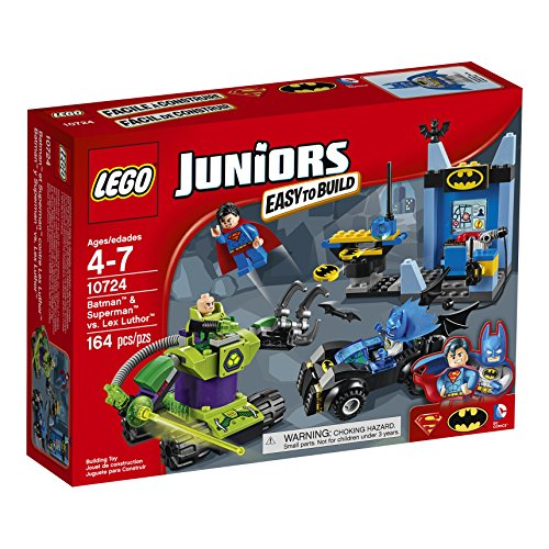 LEGO Juniors 10724 Batman & Superman vs Lex Luthor Building Kit (164 Piece)