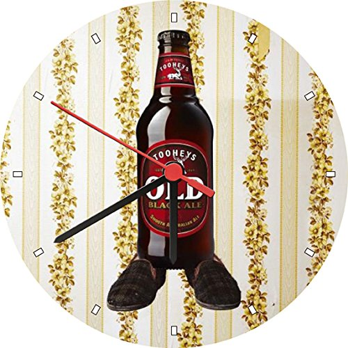 tooheys-old-black-ale-smooth-bottle-beer-lovely-wall-clock