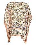 Beautiful Clothes Women's Loose Fit Tunics(BCS72_M,Multi-color,M )