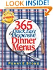 365 Quick, Easy & Inexpensive Dinner Menus
