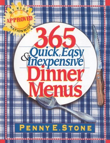 365 Quick, Easy & Inexpensive Dinner Menus (Halloween Colorado 2016)