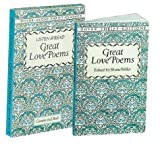 Listen & Read Great Love Poems (Book & Audio Cassette) (Dover Thrift Editions)