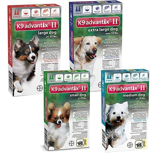 Bayer-K9-Advantix-II-Flea-And-Tick-Control-Treatment-4-to-10-lbs-for-Dogs