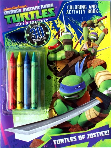 teenage mutant ninja turtles coloring book crayons tmn - Teenage Mutant Ninja Turtles Coloring Book