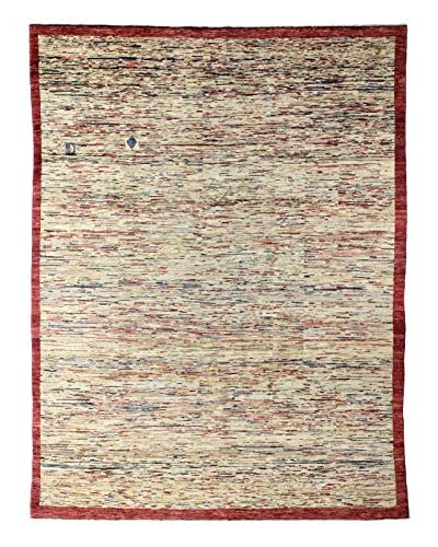 Bashian Rugs Hand Knotted One-of-a-Kind Pak Gabbeh Rug, Beige, 7' 9
