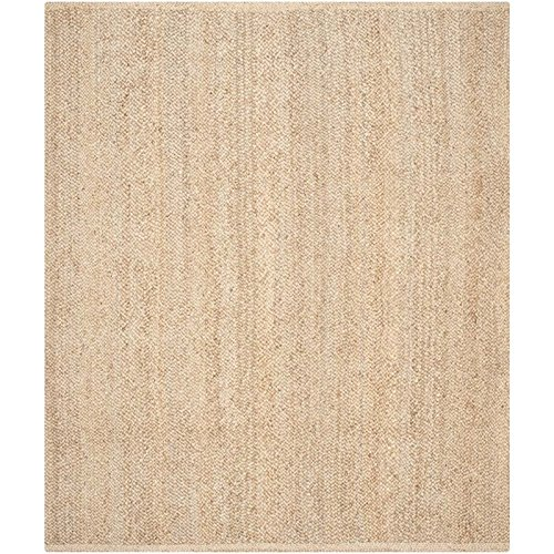 Safavieh Natural Fiber Collection NF461A Handmade Natural Jute Area Rug, 8 feet by 10 feet (8' x 10')