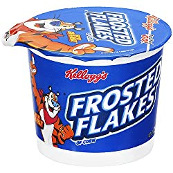 Kelloggs Frosted Flakes in a Cup Cereal,60g