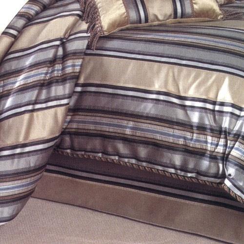 Croscill Huntington Stripe Bed Skirt front-68437