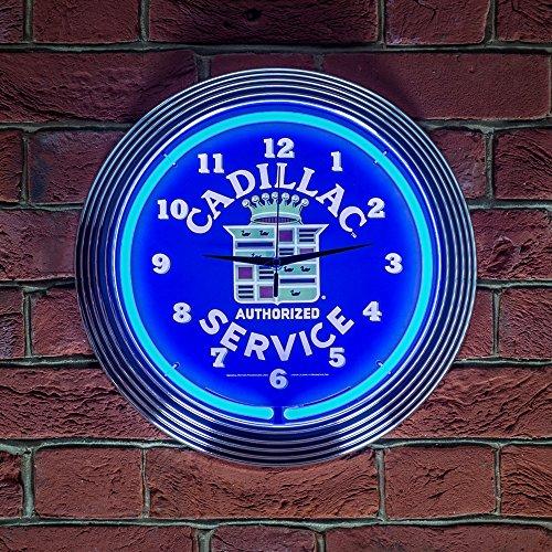 cadillac-service-neon-clock-240v-3-prong-uk