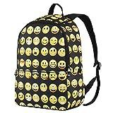 Hynes Eagle Emoji Kids' Backpack (Black)