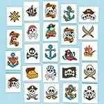 Piraten-Tattoos - 24 St�ck