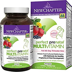 New Chapter Perfect Prenatal Multi Vitamin Trimester  - 270 ct