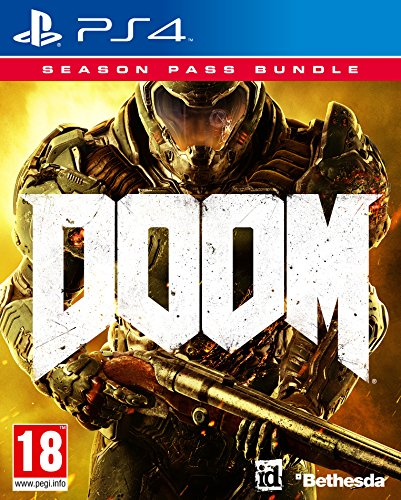Doom Game + Season Pass Bundle (Exclusive to Amazon.co.uk) (PS4)