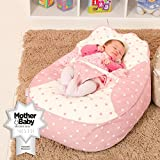 Bambeano® Baby Bean Bag Support Chair - Pink - With FREE 'My 1st Bean Bag' Cover